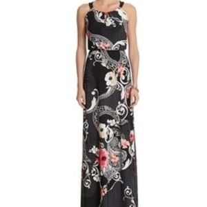 White House Black Market sleeveless maxi dress